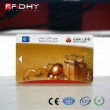 Scheda del metallo delle schede di insieme dei membri di nome del metallo dell'oro di alta qualità RFID