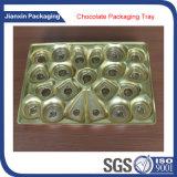 Goldenes Tellersegment für Schokoladen-Verpackung