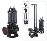 High Efficiency não-entupimento submersíveis de esgoto centrífugas Irrigação Bomba de água