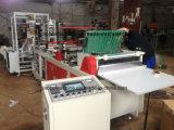Vorbildlicher angebrachter mit Reißverschlussbeutel des Plastikfilm-700, der Maschine herstellt