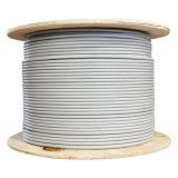 Cable de LAN descubierto del cobre de la chaqueta de PVC de CAT6 UTP 23AWG