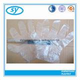 Устранимые пластичные перчатки PE для взрослых