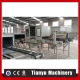機械を形作るアルミニウムローラーのプロフィールの装飾的な石の塗られた金属の屋根瓦ロール
