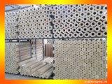 Шерсти утеса алюминиевой фольги трубы материалов изоляции жары минеральные
