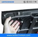 P5.95 gebogene LED-Bildschirmanzeige im Freien für das Bekanntmachen (P4.81, P5.95, P6.25)