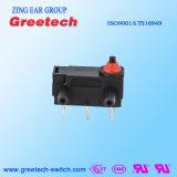 Interruptor micro impermeable eléctrico del aparato electrodoméstico con RoHS y aprobaciones de la UL