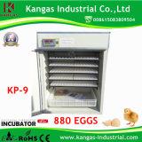 Oeufs complètement automatiques de la machine 880 d'établissement d'incubation d'incubateur d'oeuf de caille de Digitals