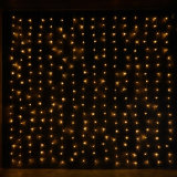 عيد ميلاد المسيح عرس منزل زخرفة ستار ضوء