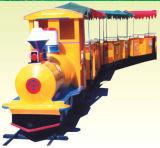 Machine de parc d'attractions de train électrique de stationnement sur la promotion (HD-10401)