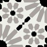 白黒スペインの艶をかけられた磁器Tile20*20cm