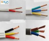 Fio elétrico isolado PVC do cabo de cobre de Thw do condutor