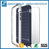 Caja de encargo del teléfono móvil del item de Alibaba del cepillo de la caja delgada a prueba de choques caliente de la armadura para Samsungj7