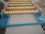 Hochgeschwindigkeitsaluminium runzelte die Blatt-Rolle, die Maschine bildet