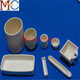 Boete Opgepoetste Alumina van de Oppervlakte Ceramische Smeltkroes