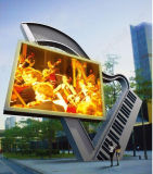 P8 SMD3535 Full Color Outdoor LED Display met 640X640mm Diecasting Cabient