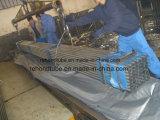 Grootte 53X35mm van het Spoor van het vee en de Pre Vlakke Elliptische Buis van het Staal Glav