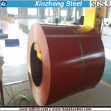La bobina d'acciaio del materiale da costruzione ha galvanizzato la bobina d'acciaio PPGI per tetto