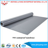 Singl Falte Tpo Dach-Membrane für niedriges Steigung-Dach
