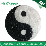 Hola vidrio claro machacado material decorativo Chipper