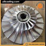 Impulsor de la turbina de la GE de la alta calidad usado para el mercado de accesorios locomotor del turbocompresor