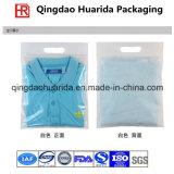Saco de empacotamento do vestuário plástico colorido da impressão/saco de empacotamento roupa interior do Zipper