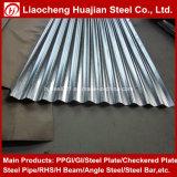 Strato d'acciaio ondulato del tetto galvanizzato SGCC per l'Africa