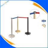 2015 New Metal Retractable Gürtel Queue Pole Barrier