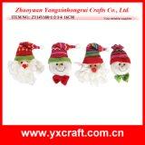 La Navidad colgante de la decoración del partido de la cara de la Navidad de la decoración de la Navidad (ZY14Y180-1-2-3-4)