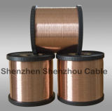 0.12--3.0 CCAM Wire do milímetro Copper Clad Aluminum Wire/
