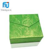 Nuevo diseño verde del rectángulo de papel caja del collar