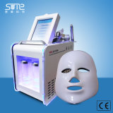 El equipo de la belleza para la limpieza facial con Shinny efecto