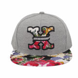 Borda fresca Snapback Hats de Embroidery e de Colourful Design
