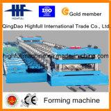Rolo do Guardrail da estrada que dá forma à maquinaria com fábrica