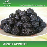 5:1 foncé naturel d'extrait de fruit de prune de 100%, chromatographie sur couche mince de 10:1