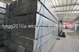 Cuadrado del tubo de acero y rectangular galvanizados