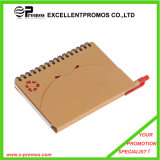 Custom bon marché Promotional Recycled Notebook avec Pen (EP-N1083)
