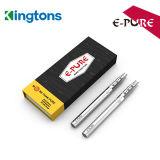 Di Kingtons sigaretta elettronica E-Pura di arrivo recentemente per sia la spremuta normale che gli estratti di E