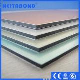 el panel compuesto de aluminio de 4m m para la pared de cortina
