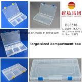 Großformatiger transparenter Plastikablagekasten