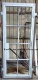 Portas de entrada do dobro do ferro feito de vidro geado com Sidelights dobro