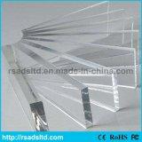 Il plexiglass trasparente ha lanciato lo strato acrilico