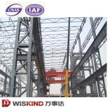 El viento y resistente al agua a prueba de acero corrugado Almacén Estructura