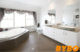 Meubles lustrés élevés blancs classiques de Vantity de Bath (BY-B-15)
