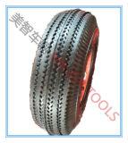 4.10/3.50-4 Roda de borracha pneumática para o reboque da canoa
