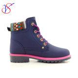 2017 de nieuwe Schoenen van de Laarzen van het Werk van de Veiligheid van de Vrouwen van de Man van de Injectie van de Stijl Werkende voor Baan (BLAUW svwk-1609-015)