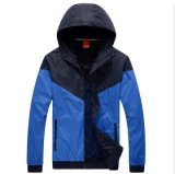 OEM New Design Custom Nylon Sports Waterproof Windbreaker Jacket para homens