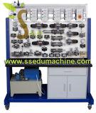 Matériel de formation didactique de mécatronique de matière de Didactique de matériel d'entraîneur hydraulique transparent