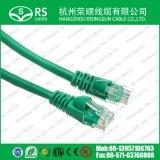 Preço barato do cabo de correção de programa 26AWG de Cat5e CCA