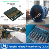 Stahlnetzkabel-Förderband mit dehnbarer Stärke