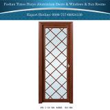 Chinesisches Lieferant klassisches Dedecorative Aluminium eingehängte Türen für Innenbadezimmer-Dekoration
